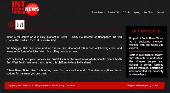 India News Ticker