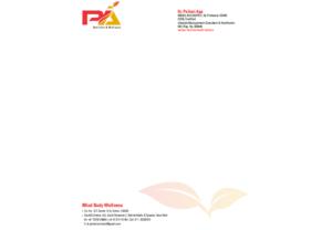 Pallavi Aga nutritionist art work 2 brand identity