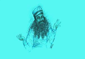 Self-styled godman and Dera Sacha Sauda chief Gurmeet Ram Rahim Singh Insan