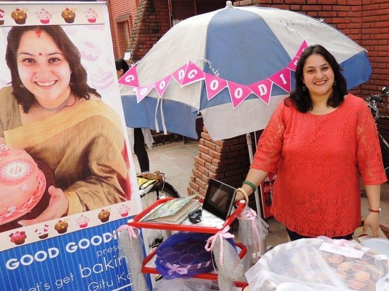 Standee-designing-creative-Baking-with-Gitu-Gitanjali-Kaul-of-The-Good-Goodies-cakes-and-bakery