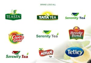Tea Logo all brand company India