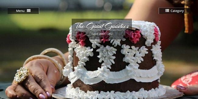 The Good Goodies cake bakery by Gitu Gitanjali Kaul