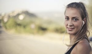 hearing-podcasts-on-earphones