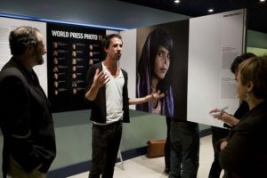 The image of Aisha was shown at a World Press Photo presentation in 2011.